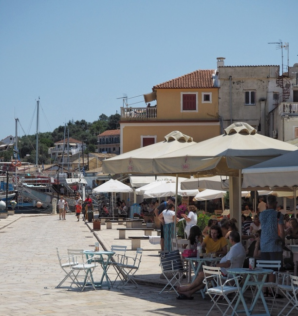 Gaios town quay