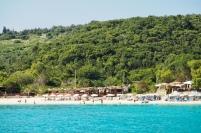 Sandy beach on Anti Paxos