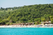 Sandy beach on Anti Paxos