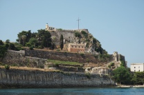 The fort at Corfu